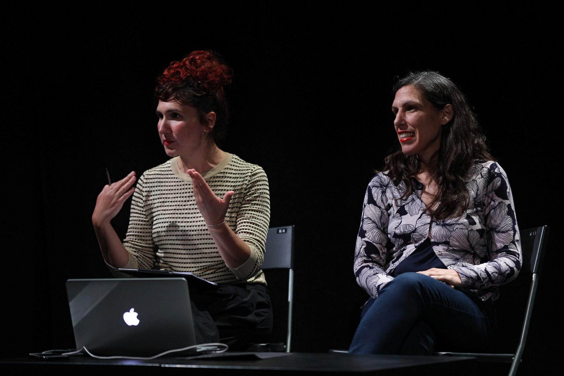 ARC_Dialogues - Sofia Mavragani - Chrysanthi Badeka - photo by RGB Studios